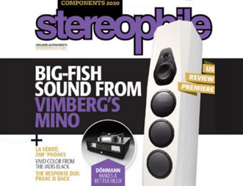 VIMBERG – front cover of Stereophile